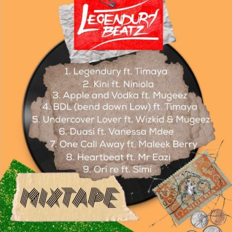 MIXTAPE: Legendury Beatz – Afropop101 Mixtape
