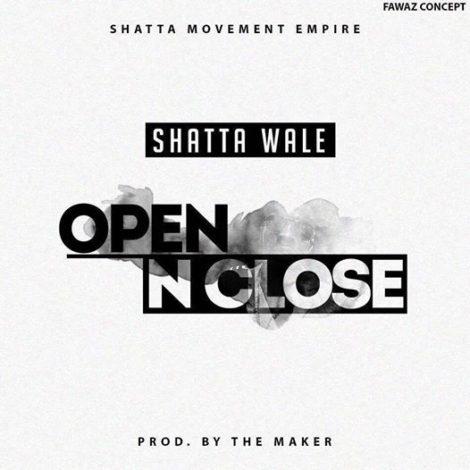 Shatta Wale – Open N Close (Prod By Da Maker)