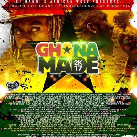DJ Manni – Ghana @60 Independence Mixtape