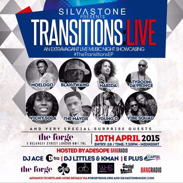 SilvaStone Transitions live