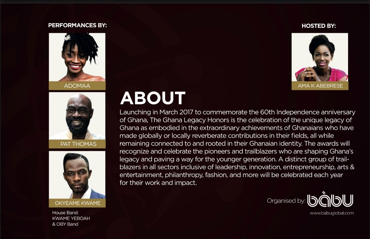 Sir Sam Jonah, Ozwald Boateng And More To Be Honored At Ghana Legacy Honors (3)