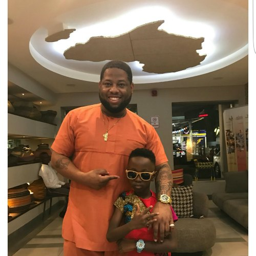 Is D-Black Signing Okyeame Kwame's Son?