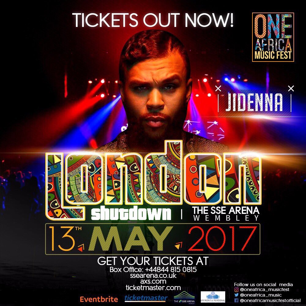 Jidenna and Sarkodie Join One Africa Music Festival Lineup