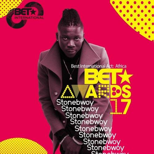 BET 2017 - Stonebwoy Gets 2nd Nomination