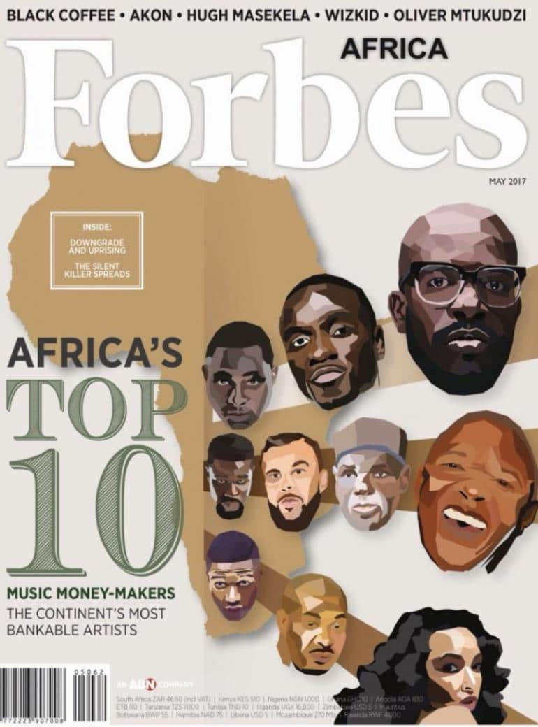 Sarkodie named in Forbes top 10 richest musicians in Africa