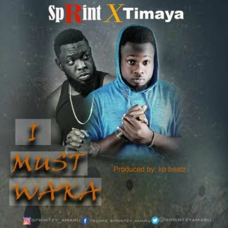 Sprint – I Must Waka (Feat. Timaya)(Prod By KO Beatz)