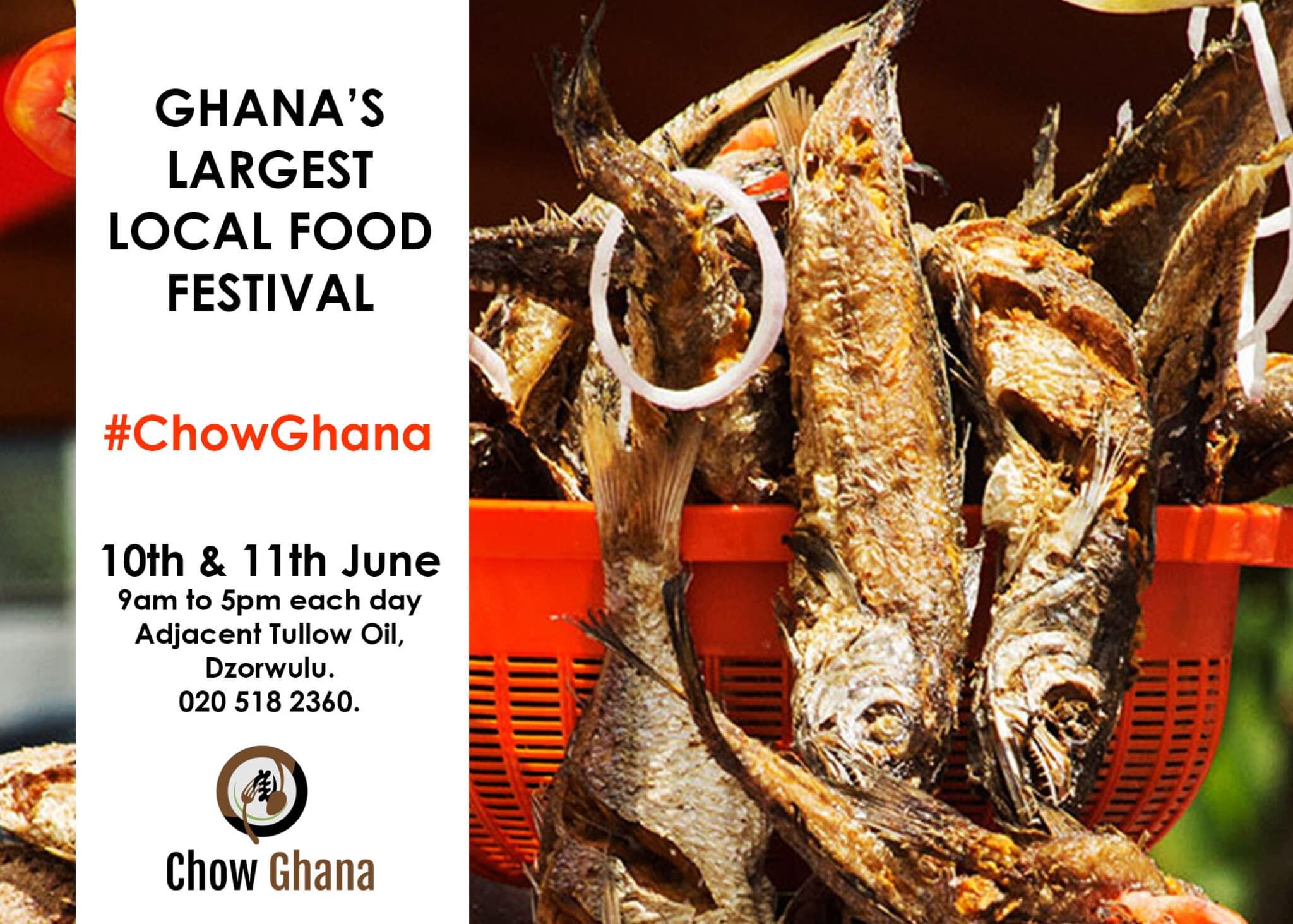 Chow Ghana: Ghana's First Local Food Festival Slated For June 10