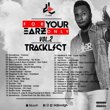 DJ Lord – 4 Your Earz Only Vol.2