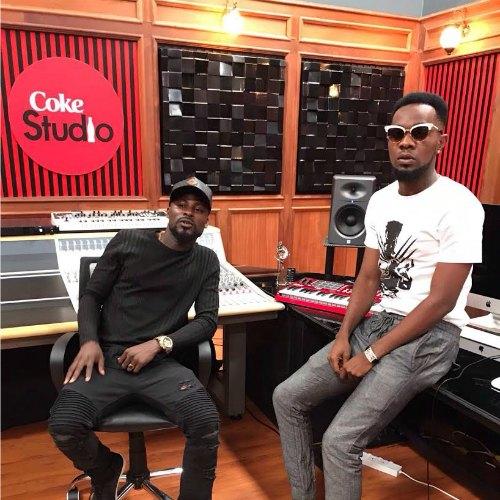 Mix Masta Garzy Spotted at Kenya, Nairobi Coke Studio Africa 2017