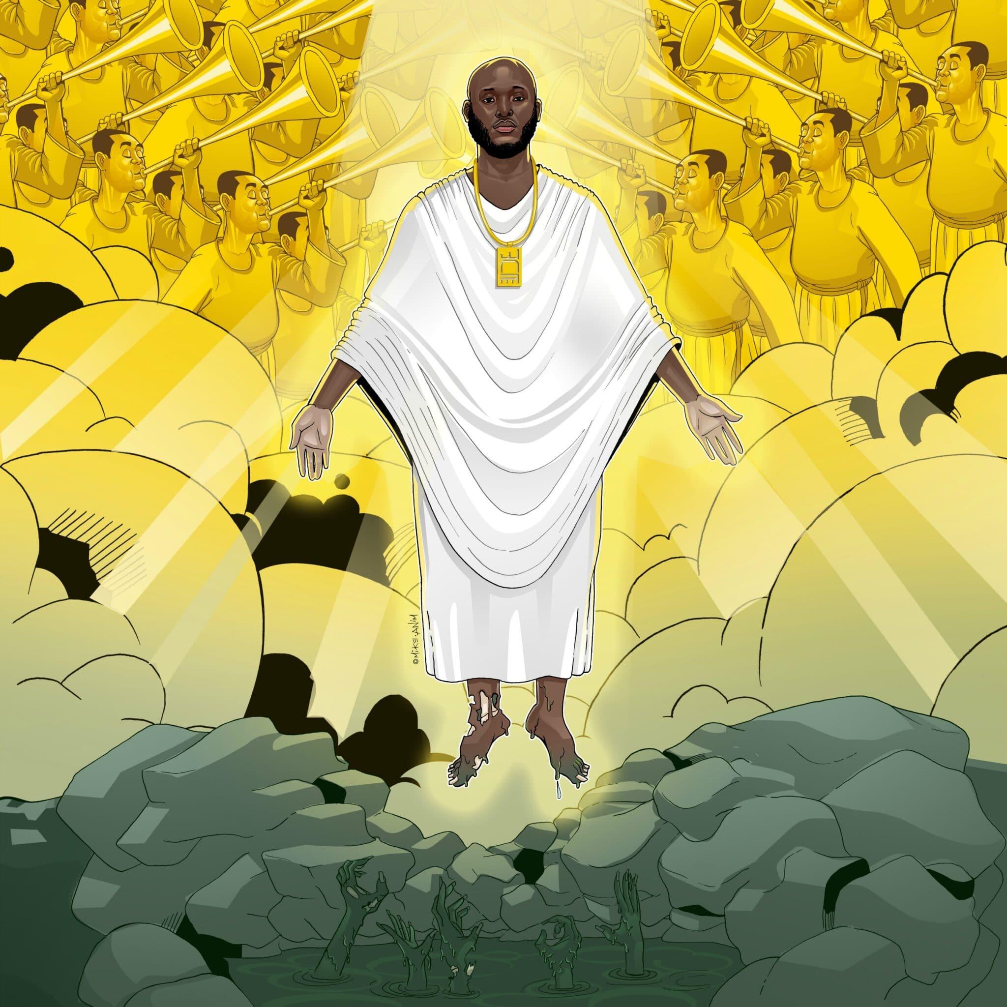 Ntelabi Unveils Artwork For Upcoming Single 'Glory'