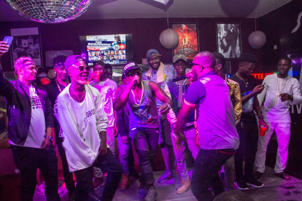 Ntelabi Spotted at Cabum's Album Launch