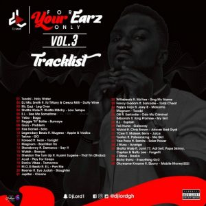 DJ LORD - 4 Your Earz Only Vol.3