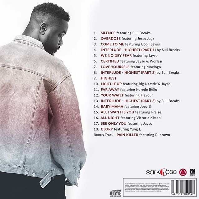 Sarkodie Releases The Official Artwork And Tracklist For Highest Album