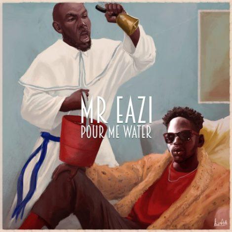 INSTRUMENTAL REMAKE: Mr. Eazi – Pour Me Water (Prod. By SkyBeatsGH)
